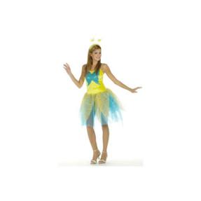 Νεράιδα – πεταλούδα κίτρινη/γαλάζια