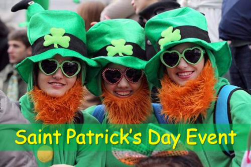 Saint Patrick's Day Event